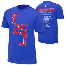 """Chris Jericho """"Y25J"""" Commemorative T-Shirt"""