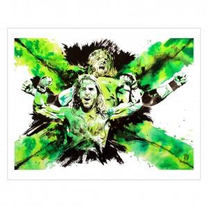 Degeneration-X 11 x 14 Rob Schamberger Art Print