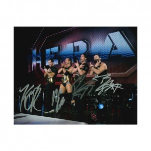 Undisputed Era 8 x 10 Autographed Photo