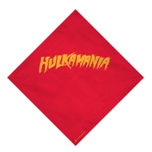 "Hulk Hogan ""Hulkamania"" Red Bandana"