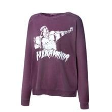 "Hulk Hogan ""Hulkamania"" Women's Vintage Sweatshirt"