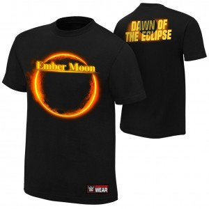 "Ember Moon ""Dawn of the Eclipse"" Authentic T-Shirt"