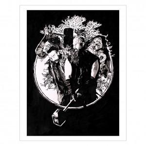 Bludgeon Brothers 11 x 14 Rob Schamberger Art Print