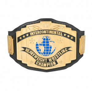 WWE Black Intercontinental Championship Replica Title Belt