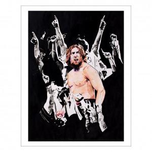Daniel Bryan 11 x 14 Rob Schamberger Art Print