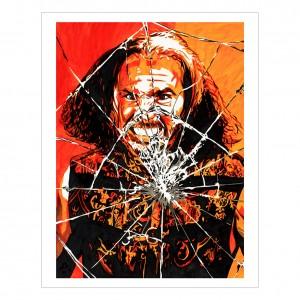 Matt Hardy 11 x 14 Rob Schamberger Art Print