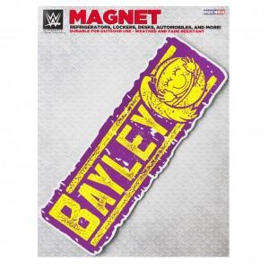 "Bayley ""Huggers Gonna Hug"" Car Magnet"
