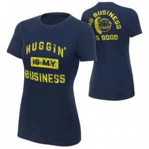 "Bayley ""Huggin' is My Business"" Women's Special Edition T-Shirt"