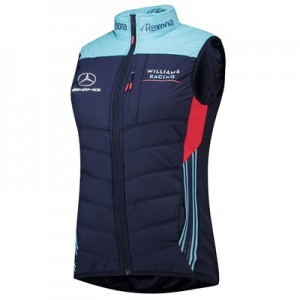Williams Racing 2018 Alternate Team Gilet - Womens