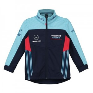 Williams Racing 2018 Team Softshell Jacket - Kids
