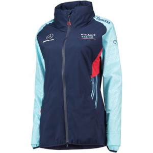Williams Racing 2018 Alternate Team Rain Jacket - Womens