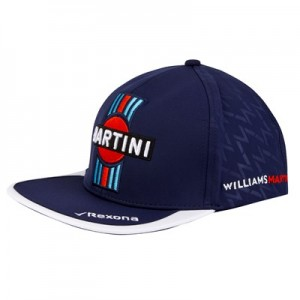 Williams Martini Racing 2018 Flatbrim Driver Cap - Lance Stroll