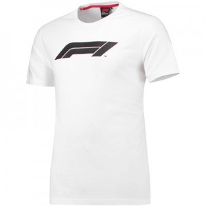 Formula 1 Essentials High Build Logo T-Shirt - White