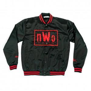 nWo Wolfpac Vintage Chalk Line Jacket