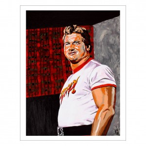 Rowdy Roddy Piper 11 x 14 Rob Schamberger Art Print