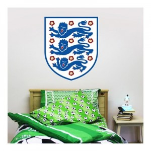 England Crest Wall Sticker 60x60cm