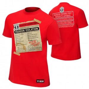 "Breezango ""Fashion Violation"" Authentic T-Shirt"