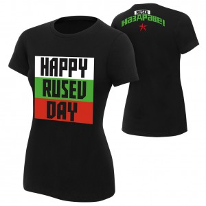 "Rusev ""Happy Rusev Day"" Women's Authentic T-Shirt"