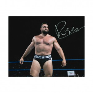 Rusev 8 x 10 Autographed Photo