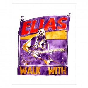 Elias 11 x 14 Rob Schamberger Art Print