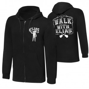 "Elias ""Walk With Elias"" Full-Zip Hoodie Sweatshirt"