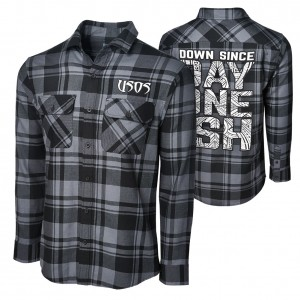 """The Usos """"Since Day One Ish"""" Flannel Shirt"""