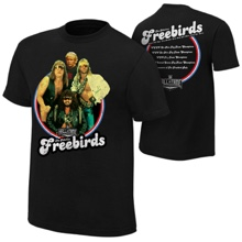 "The Fabulous Freebirds ""Hall of Fame 2016"" T-Shirt"