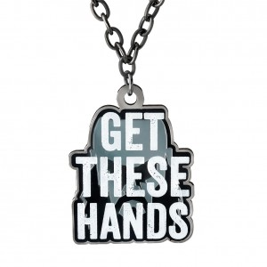 """Braun Strowman """"Get These Hands"""" Pendant"""