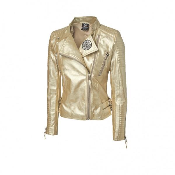 "Sasha Banks ""The Legit Boss"" Gold Replica Jacket"