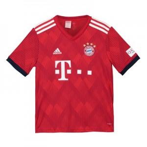 FC Bayern Home Shirt 2018-19 - Kids