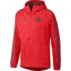 FC Bayern Training Rain Jacket - Red