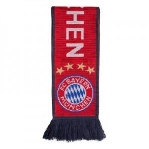 FC Bayern Home Scarf - Red