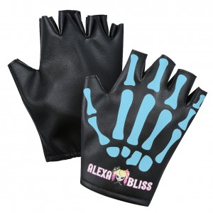 "Alexa Bliss ""Little Miss Bliss"" Blue Replica Gloves"