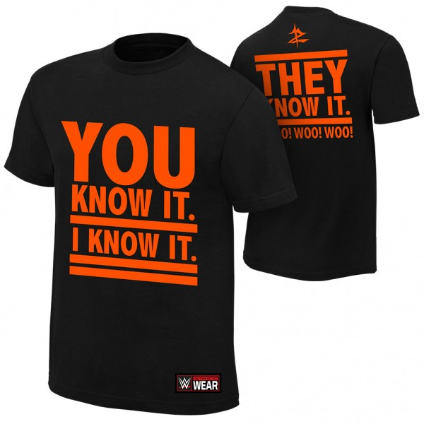 """Zack Ryder """"You Know It""""  Authentic T-Shirt"""