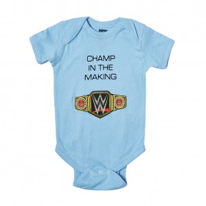 "WWE ""Champ in The Making"" Boys Onesie Creeper"