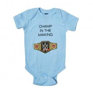 "WWE ""Champ in The Making"" Boys Onesie Creeper"