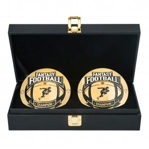Fantasy Football Championship Replica Side Plate Box Set