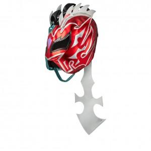 Kalisto Silver/Red Replica Mask