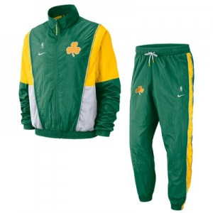 Boston Celtics Nike Courtside Tracksuit - Clover/Amarillo - Mens