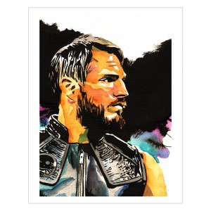 Johnny Gargano 11 x 14 Rob Schamberger Art Print