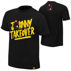 "Johnny Gargano ""Johnny Takeover"" Youth Authentic T-Shirt"