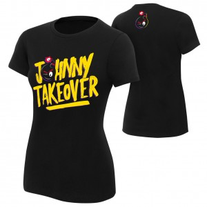 "Johnny Gargano ""Johnny Takeover"" Women's Authentic T-Shirt"