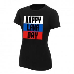 "Lana ""Happy Lana Day"" Women's Authentic T-Shirt"