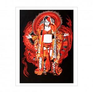 Asuka 11 x 14 Rob Schamberger Art Print