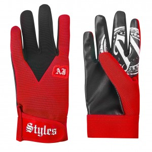 AJ Styles Red Replica Gloves