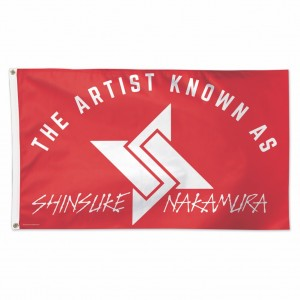 Shinsuke Nakamura 3 x 5 Logo Flag