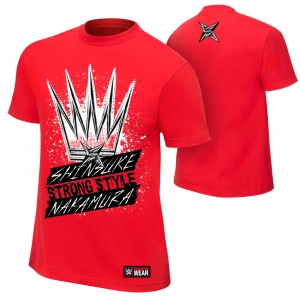 "Shinsuke Nakamura ""King of Strong Style"" Youth Authentic T-Shirt"