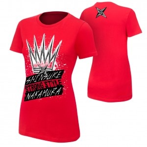 "Shinsuke Nakamura ""King of Strong Style"" Women's Authentic T-Shirt"