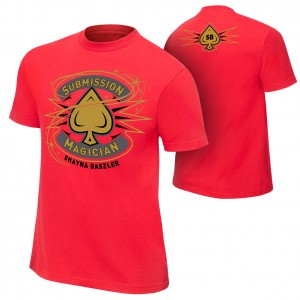 """Shayna Baszler """"Submission Magician"""" Authentic T-Shirt"""