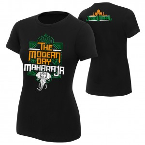 "Jinder Mahal ""Modern Day Maharaja"" Women's Authentic T-Shirt"